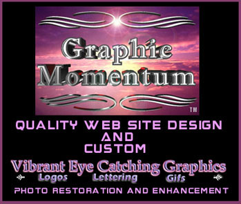GraphicMomentum Logo By Greta Lovejoy